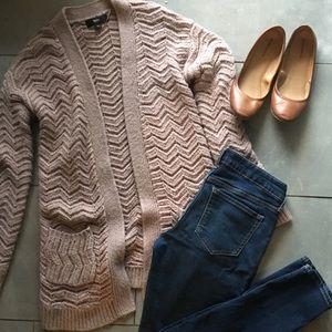 Mossimo chevron knit cardigan